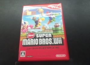 Wii用ソフト「newスーパーマリオブラザーズWii」を買取しました!
