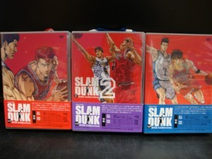 SLAM DUNK DVD-Collection 全3巻セット、買取りました!