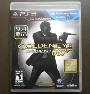 【名作のHD版】PS3 ゴールデンアイ 007 リローデッド