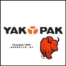 ブルックリン生まれのブランド「YAKPAK」取扱い始めました♪