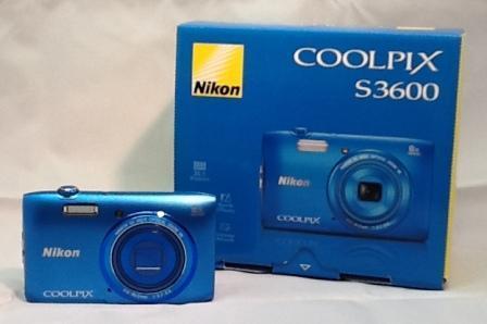 デジタルカメラ Nikon 「COOLPIX S3600」を買取しました!