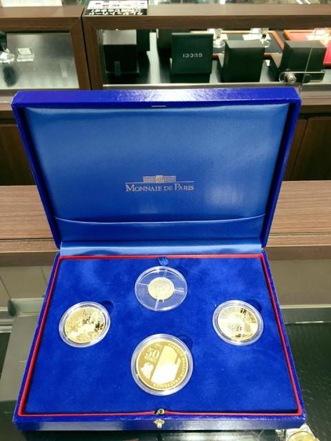 MONNAIE DE PARIS フランス金貨4種セット