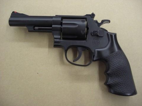クラウンモデル S&W M19 4インチ .357 コンバット マグナム ブラック(エアコッキング)買取致しました!