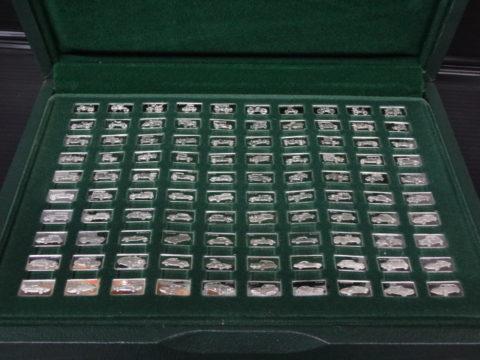 偉大なる自動車100種 純銀製ミニチュア・コレクション