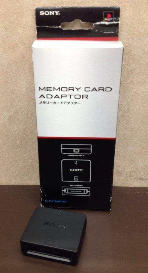 PS3用メモリーカードアダプター