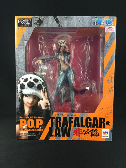 """まさかの公式非公認???Portrait.Of.Piratesワンピース""""I.R.O"""" トラファルガー・ローを買取いたしました!"""