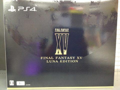 【買取】PS4本体 ファイナルファンタジー(FF)15 ルナエディション 本体高価買取!