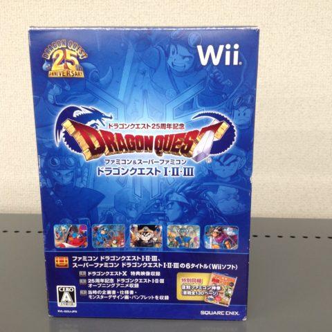 Wiiソフト ドラゴンクエスト1・2・3 買取ました!