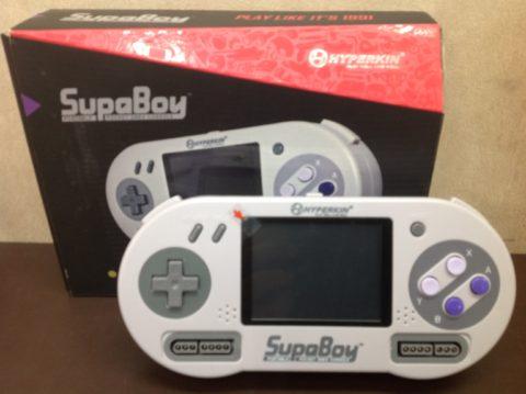 【持ち運べるSFC互換機】SupaBoy(スパボーイ)