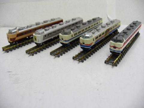 【鉄道模型】akia ZJゲージ 485系 特急型電車 買取致しました!!