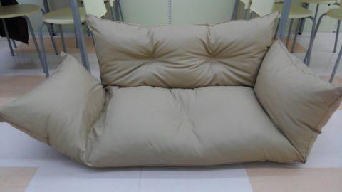 座椅子のようなソファを出張買取させて頂きました!!