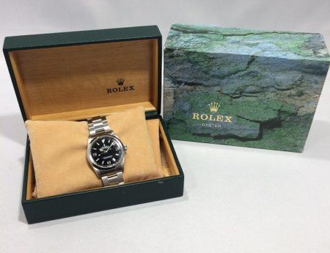 ROLEX/ロレックス エクスプローラーI Ref.114270 買取致しました!!