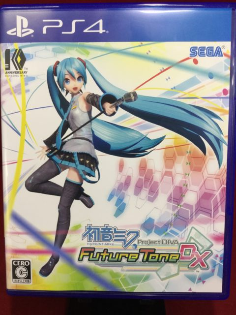 初音ミク Project DIVA Future Tone DXを買取致しました!!