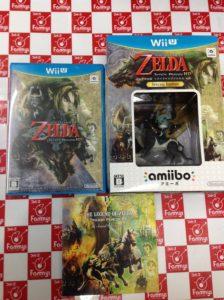 WiiU 限定版)ゼルダの伝説 トワイライトプリンセス HD 買取りました!