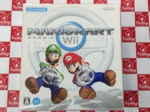 Wii マリオカートWii(Wiiハンドル同梱)買取りました!