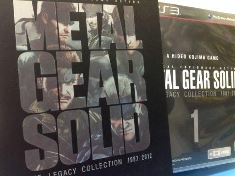 PS3 METAL GEAR SOLID レガシーコレクションが来ました!