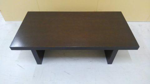 天板一枚板のローテーブルを出張買取させて頂きました!!