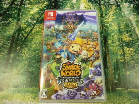 【買取情報】Nintendo Switch『スナックワールド トレジャラーズ ゴールド』買取しました☆
