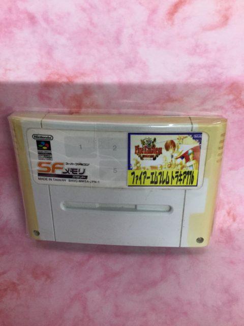 【レア商品】スーパーファミコンSFメモリカセット 「ファイアーエムブレム トラキア776」