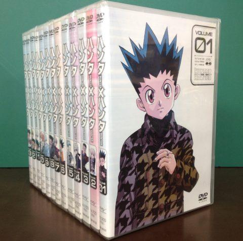 【旧TVシリーズ】DVD ハンター×ハンター 全13巻セット