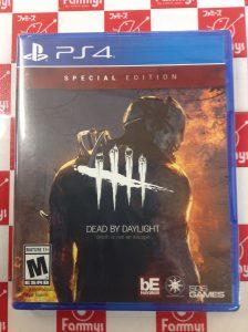 PS4 Dead by Daylight スペシャルエディション 買取りました!!