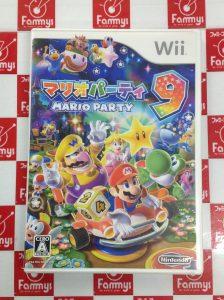 Wii マリオパーティ9 買取りました!!