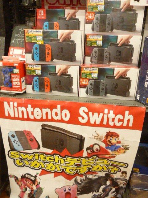 Nintendo Switch【ニンテンドースイッチ】中古の本体在庫あります!!!
