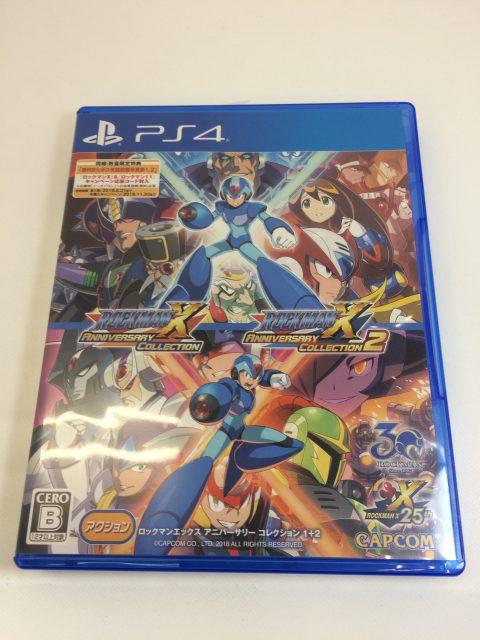 PS4 ロックマンX アニバーサリー コレクション 1+2 買取致しました!