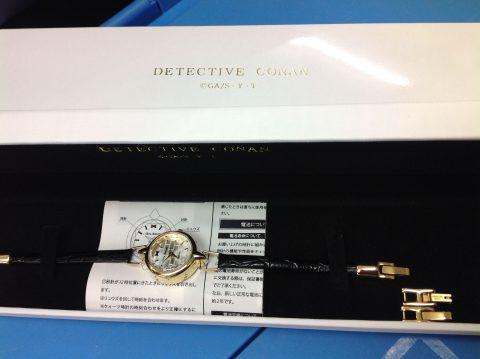 名探偵コナン 安室透モデルの腕時計が来ました!