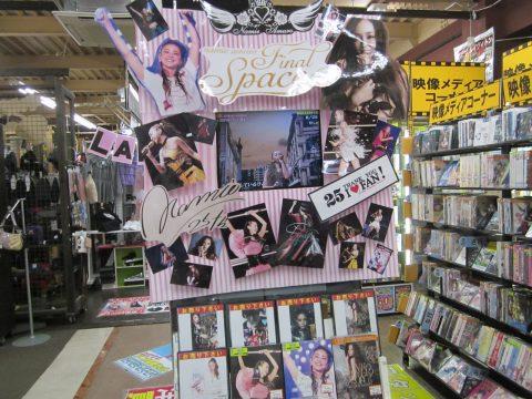 安室奈美恵さんライブDVD買取いたしました