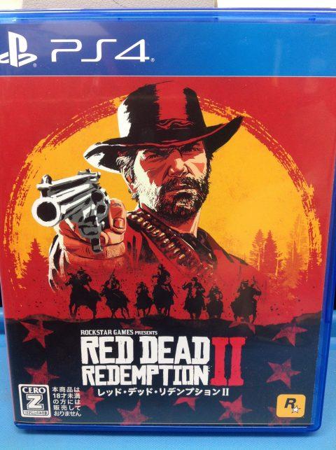 PS4!レッドデッドリデンプション2が来ました!