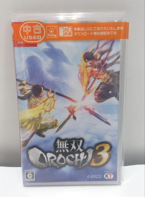 Switch「無双OROCHI3」買取しました!