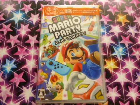 スーパー マリオパーティ Nintendo Switch 買取しました!