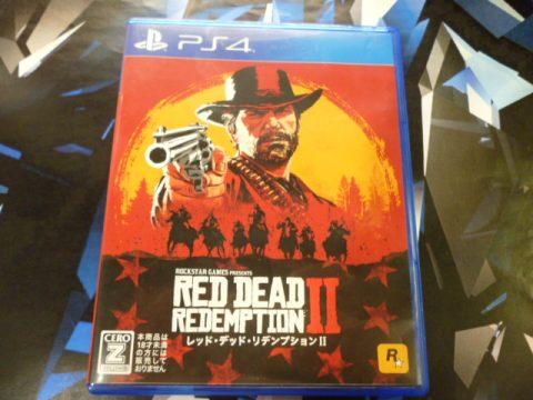 【買取情報】PS4『レッド・デッド・リデンプション2』買取しました!