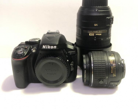 Nikon D5300 デジタル一眼レフカメラ ダブルズームキット 買取しました!