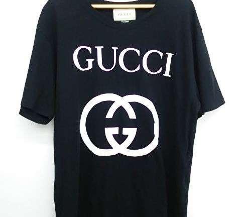 GUCCI 18AWインターロッキング コットンオーバーサイズTシャツ 買取しました!