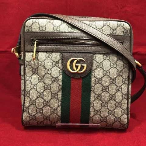 GUCCI オフィディア GG スモールメッセンジャーバッグ 買取しました!