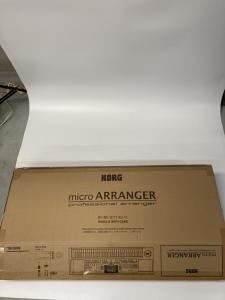 KORG マイクロアレンジャー 買取しました!