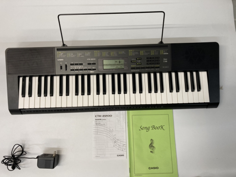 カシオ キーボード CTK-2200 買取しました!