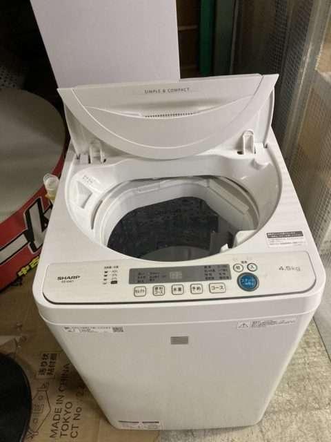 シャープ 全自動洗濯機 出張買取しました!