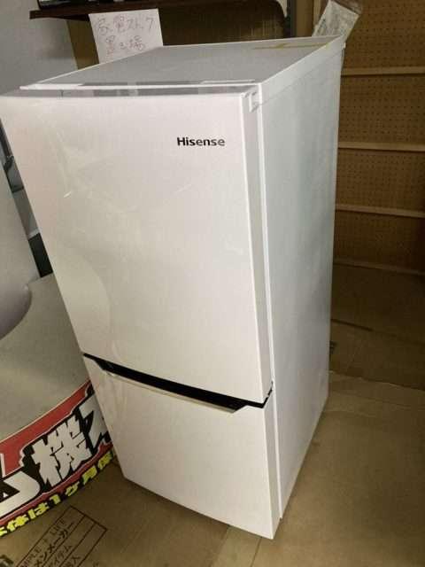 ハイセンス 2ドア冷蔵庫 買取しました!