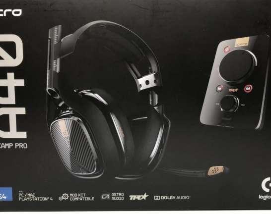 Logicool Astro A40 TR Headset+Mixamp pro ゲーミングヘッドセット 買取しました!