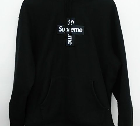 SUPREME 20FW Cross Box Logo Hooded Sweatshirt 買取しました!