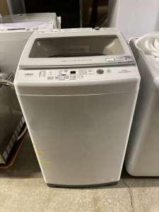 aqua ガラストップコート洗濯機 出張買取しました!