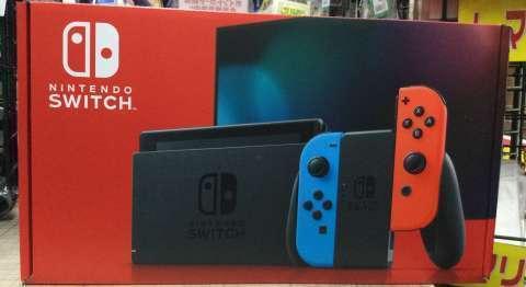 Nintendo Switch 本体(新型) 買取しました!