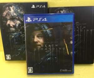 PS4ソフト DEATH STRANDING スペシャルエディション 買取しました!