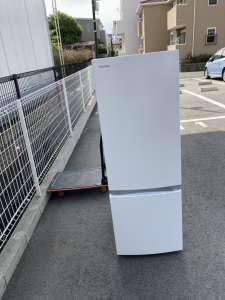 東芝 2ドア冷蔵庫 出張買取しました!