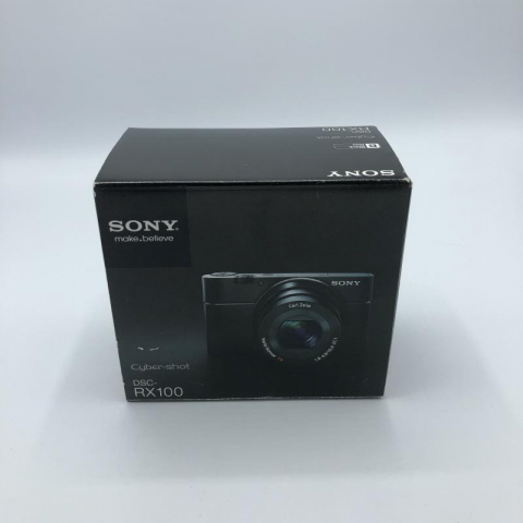 SONY デジタルカメラ サイバーショット DSC-RX100 買取しました!