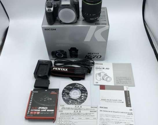 ペンタックス K-70 18-135WR レンズキット 買取しました!