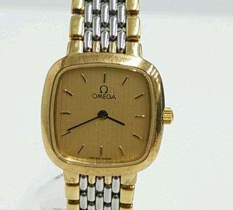 OMEGA デビル スクエア レディースクォーツ腕時計 買取しました!